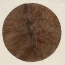 Drum Head 22 Inches diameter in Goat Skin with Hair