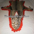 Old British Military Drummers Leopard Skin Apron