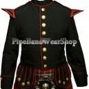 Scottish Black Prince Charlie Kilt Jacket and Vest