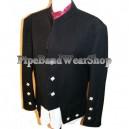 Kenmore Black Doublet Kilt Jacket