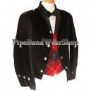 Sheriffmuir Black Doublet Kilt Jacket