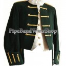 The Achara Black Kilt Doublet Jacket