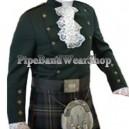 Montrose Green Kilt Doublet Jacket