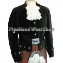 Montrose Black Kilt Doublet Jacket