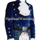 Montrose Royal Blue Kilt Doublet Jacket