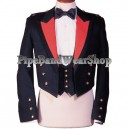 White Mess Dress Uniform Tunic Jacket with Vest