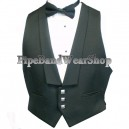 Black Prince Charlie 3 Button Waistcoat