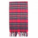 Royal Stewart Tartan  Scottish Cashmere Scarf