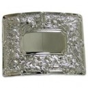 Military Thistle Kilt Waist Belt Chrome Buckle