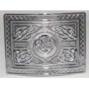 Celtic Dog Kilt Waist Belt Chrome Buckle