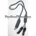 Black Dress Cord Regulation Pattern