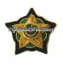 Brunei Army Badge W.O.II R.Q.M.S.