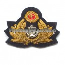 Irish Navy Cap Badge