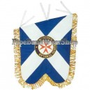 Regiment Bagpipe Pipe Banner