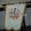Scottish Regiment Bagpipe Pipe Banner