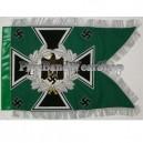 Green Jager Army Swallowtail Standarten Banner