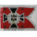 Red Artillery Army Swallowtail Standarten Banner